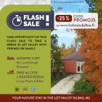[FLASH] Up to -25% off your next stay in the Lot Valley