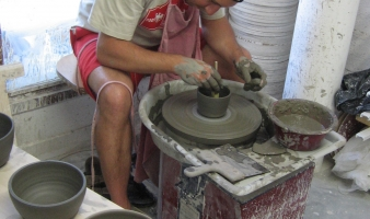 Pottery workshop for beginners or children